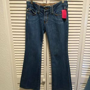 Frankie B heart accent jeans